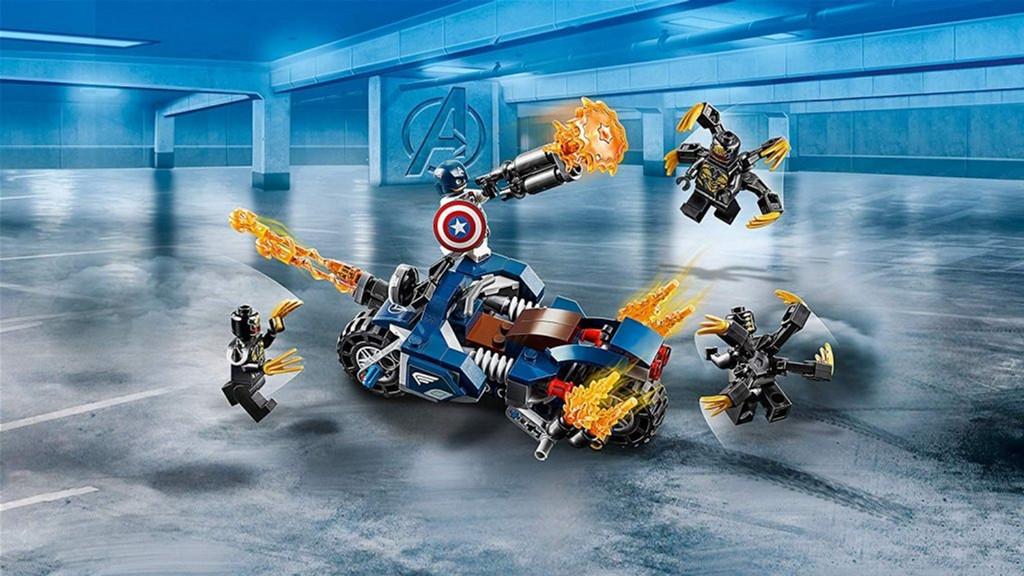 LEGO 76123 Super Heroes Marvel Comics Капітан Америка: Атака ...