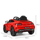 Детский электромобиль Mercedes Benz M 4010EBLR-3 красный, фото 5