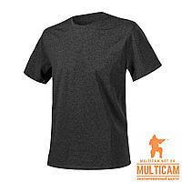 Футболка Helikon-Tex® T-Shirt - Cotton - Black/Grey Melange