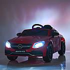 Детский электромобиль Mercedes Benz M 4010EBLRS-3 красная, фото 2