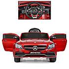 Детский электромобиль Mercedes Benz M 4010EBLRS-3 красная, фото 4