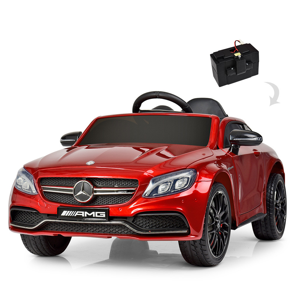 Детский электромобиль Mercedes Benz M 4010EBLRS-3 красная