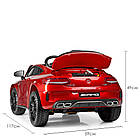 Детский электромобиль Mercedes Benz M 4010EBLRS-3 красная, фото 6