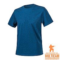 Футболка Helikon-Tex® T-Shirt - Cotton - Blue/Black Melange