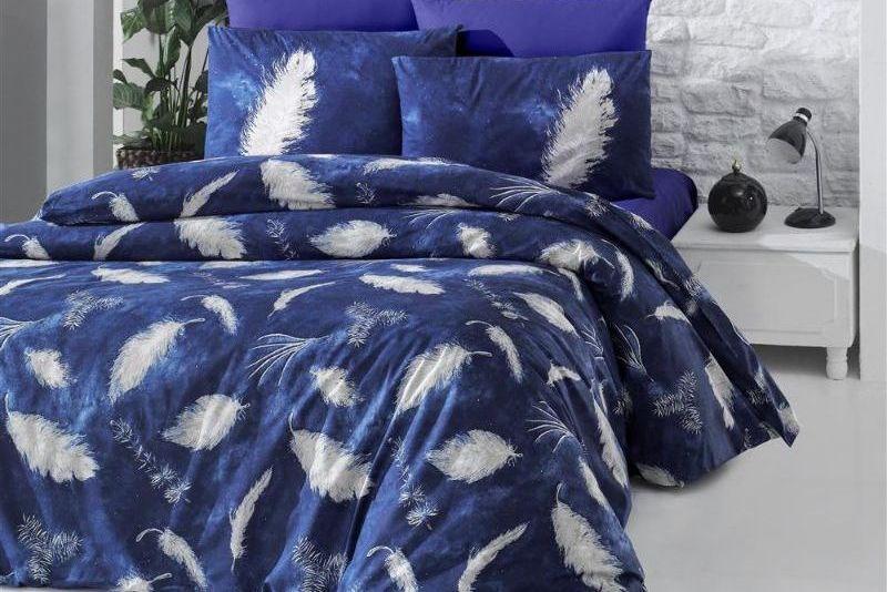 Постельное белье 2-спальное евро LIGHTHOUSE Feather