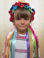 Венок украинский с лентами на прокат, фото 1