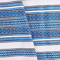 "Декоративная ткань с украинским орнаментом ""Виола"" ТД-55 (2/7)  от 1 м/пог"