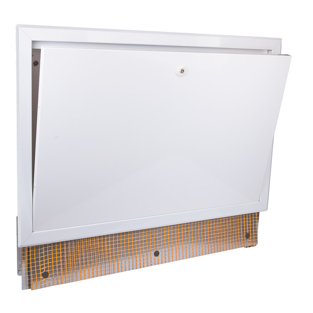 Коллекторный шкаф с замком для системы «Тёплый пол» 850 ICMA 197 (Италия)