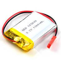 Батарея 1300mAh 3.7V 103040 Литий-Полимер Аккумулятор для MP3 Плеера GPS Видеорегистратора