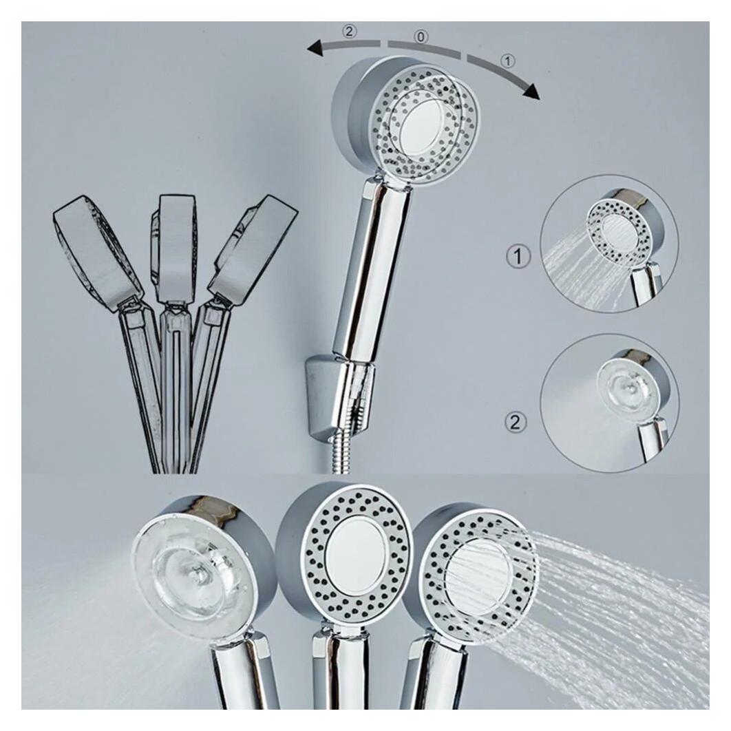 Двостороння душова лійка Multifunctional Faucet, 3 режими поливу