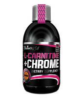 Жиросжигатель BioTech L-Carnitine + Chrome (500 мл)