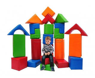 Детские игровые комплексы и мебель с экокожи KIDIGO