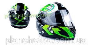 Шолом для мотоцикла Hel-Met 122 Green (зелений)