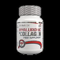 Коллаген BioTech Hyaluronic & Collagen (30 caps)