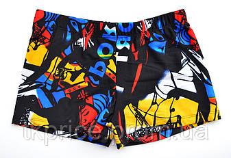 Стильные мужские купальные боксеры 184 с XXL по XXXXL рр., фото 2