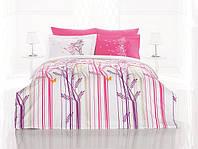 Комплект постельного белья евро 200х220  Gokay Ranforce Flora