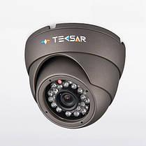 Видеокамера AHD купольная Tecsar AHDD-1M-20F-out-eco, фото 2