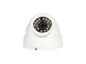 Видеокамера AHD купольная Tecsar AHDD-1M-20F-out-eco, фото 3