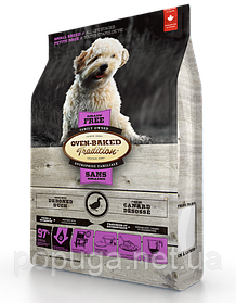 Oven-Baked Tradition беззерновой корм для собак малих порід з качкою, 2,27 кг
