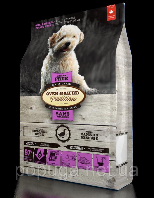 Oven-Baked Tradition беззерновой корм для собак малых пород с уткой, 4,54кг