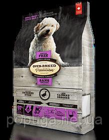 Oven-Baked Tradition беззерновой корм для собак малих порід з качкою, 4,54 кг