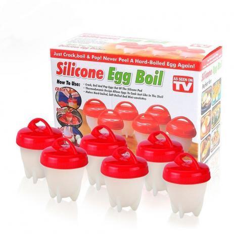 Силиконовые формочки для варки яиц Silicone Egg Boil