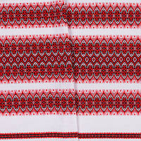 Декоративная ткань с украинским орнаментом рушниковая ТД-31 (2/1 Р-2,3м)