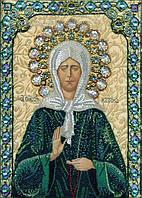 """Набор алмазной вышивки """"Матрона Московская """",чудо,религия, полная выкладка ,мозаика 5d,40х30 см"""