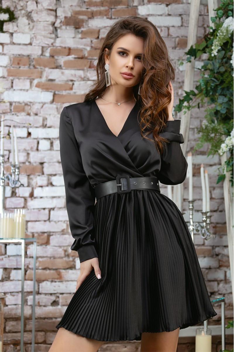 Женское платье с поясом 42,44,46