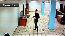 Видеокамера AHD купольная Tecsar AHDD-1M-20F-out, фото 3