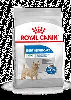 Royal Canin (Роял Канин) Mini Light  Weight Care сухой корм для собак мелких пород с избыточным весом, 1 кг