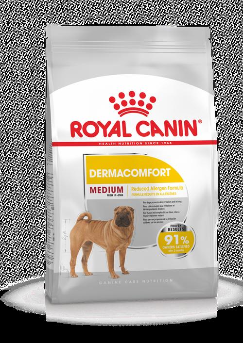 Royal Canin (Роял Канин) Medium Dermacomfort корм для собак средних пород с чувствительной кожей, 10 кг