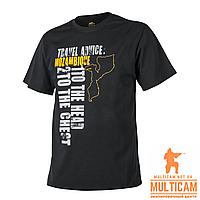 Футболка Helikon-Tex® T-Shirt (Travel Advice: Mozambique) - Cotton - Black