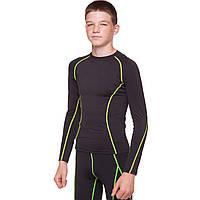 Компрессионная подростковая футболка с длинным рукавом LD-1001T размер 26-32 цвета в ассортименте