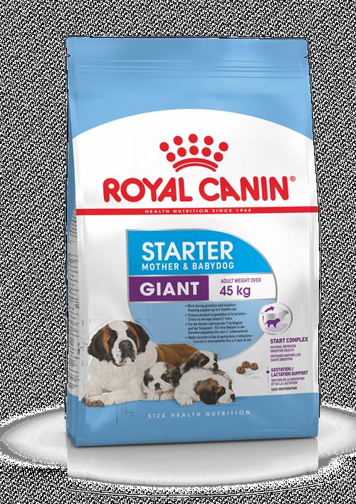 Royal Canin (Роял Канин) Giant Starter корм для щенков до 2-х месяцев, беременных и кормящих сук, 1 кг