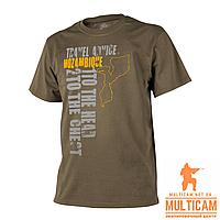 Футболка Helikon-Tex® T-Shirt (Travel Advice: Mozambique) - Cotton - Coyote