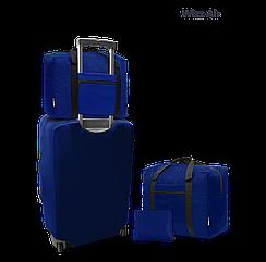 Дорожня сумка для ручної поклажі Coverbag електрик 40*30*20 см Wizzair