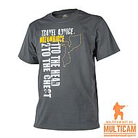 Футболка Helikon-Tex® T-Shirt (Travel Advice: Mozambique) - Cotton - Shadow Grey