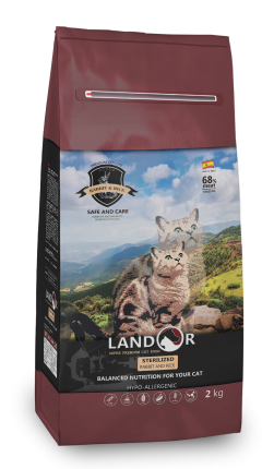 Landor (Ландор) Sterilized Rabbit & Rice сухой корм для стерилизованных кошек