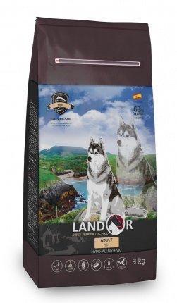 Landor Adult Dog Fish сухой корм для взрослых собак с рыбой, 1 кг