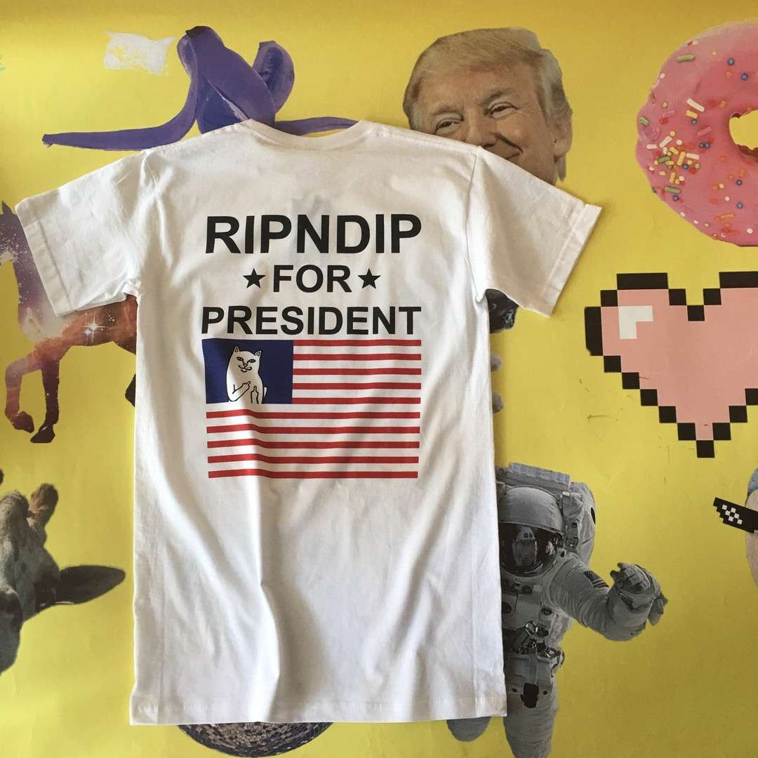 Футболка топчик RipNDip art4