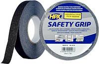 Самоклеящаяся лента против скольжения HPX SAFETY GRIP 25 мм х 18 м черная (картон) SB2518