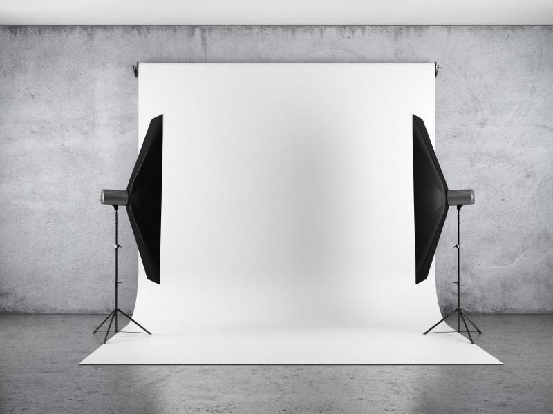 700Дж Фотостудія Foto Studio Full KIT 7SB - набір студійного імпульсного світла з фоном і власником