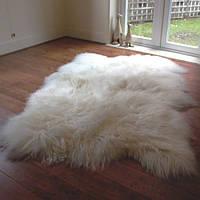 Ковер из исландской овчины, из 4-х шкур