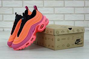 Женские кроссовки Nike Air Max 97 Plus кораллового цвета