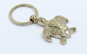 Брелок Черепаха (металл хром., цена за 1шт) PZ-FB-4397, фото 2