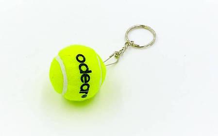 Брелок Теннисный мяч (1уп.-10шт., цена за 1шт) PZ-BT-5509, фото 2