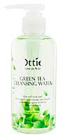 Мицелярная вода с зеленым чаем для снятия макияжа Ottie Green Tea Cleansing Water, 200 мл