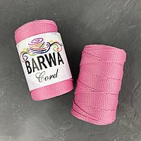 Шнур полиэфирный 3 мм без сердечника . цвет  Розовый