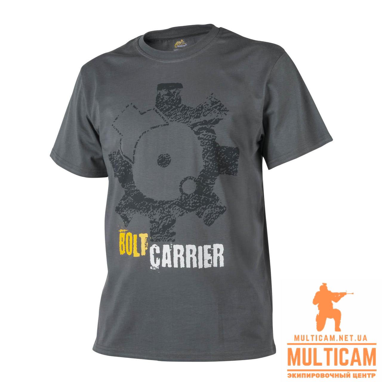 Футболка Helikon-Tex® T-Shirt (Bolt Carrier) - Cotton - Shadow Grey